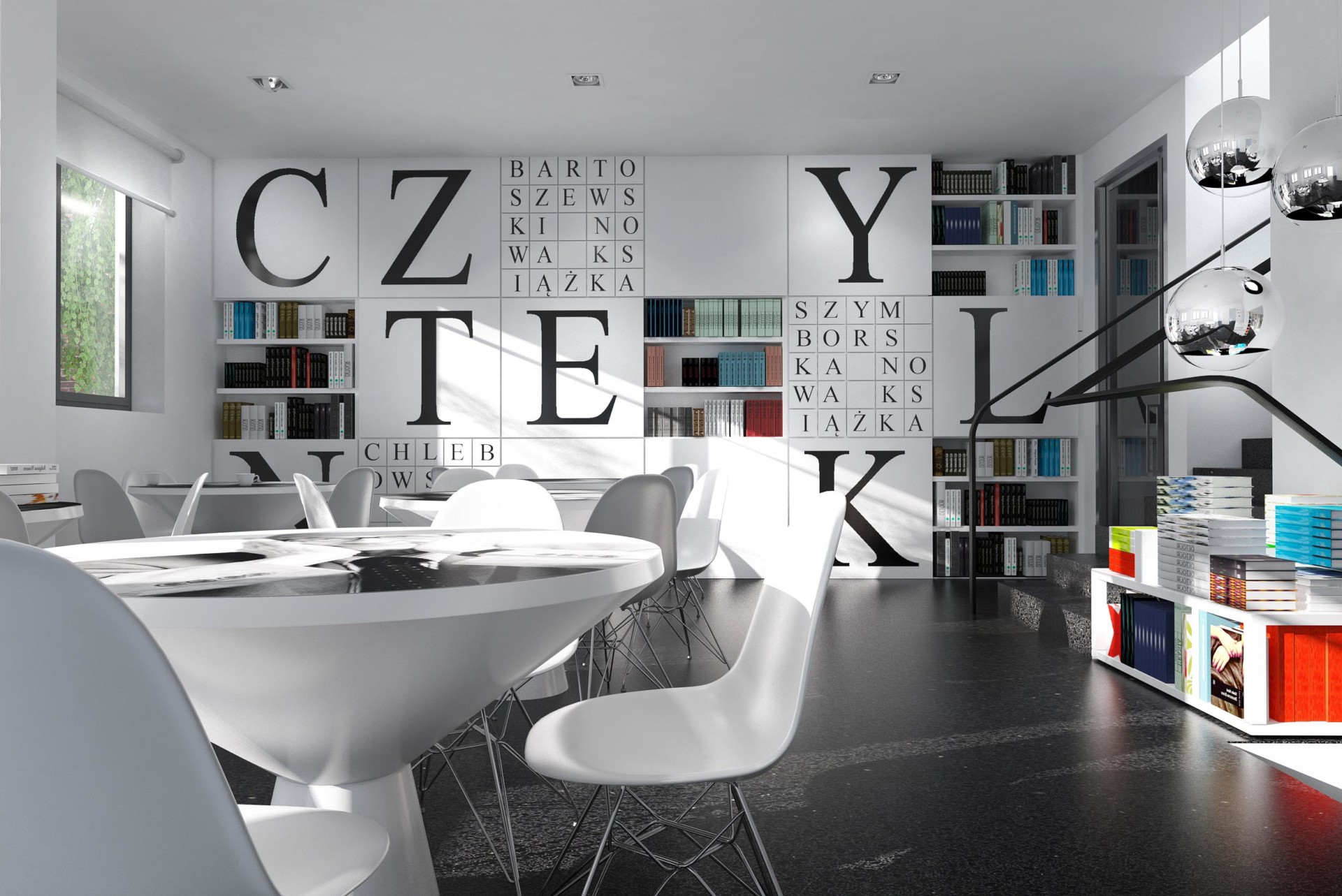 Kint Studio english Czytelnik Bookstore
