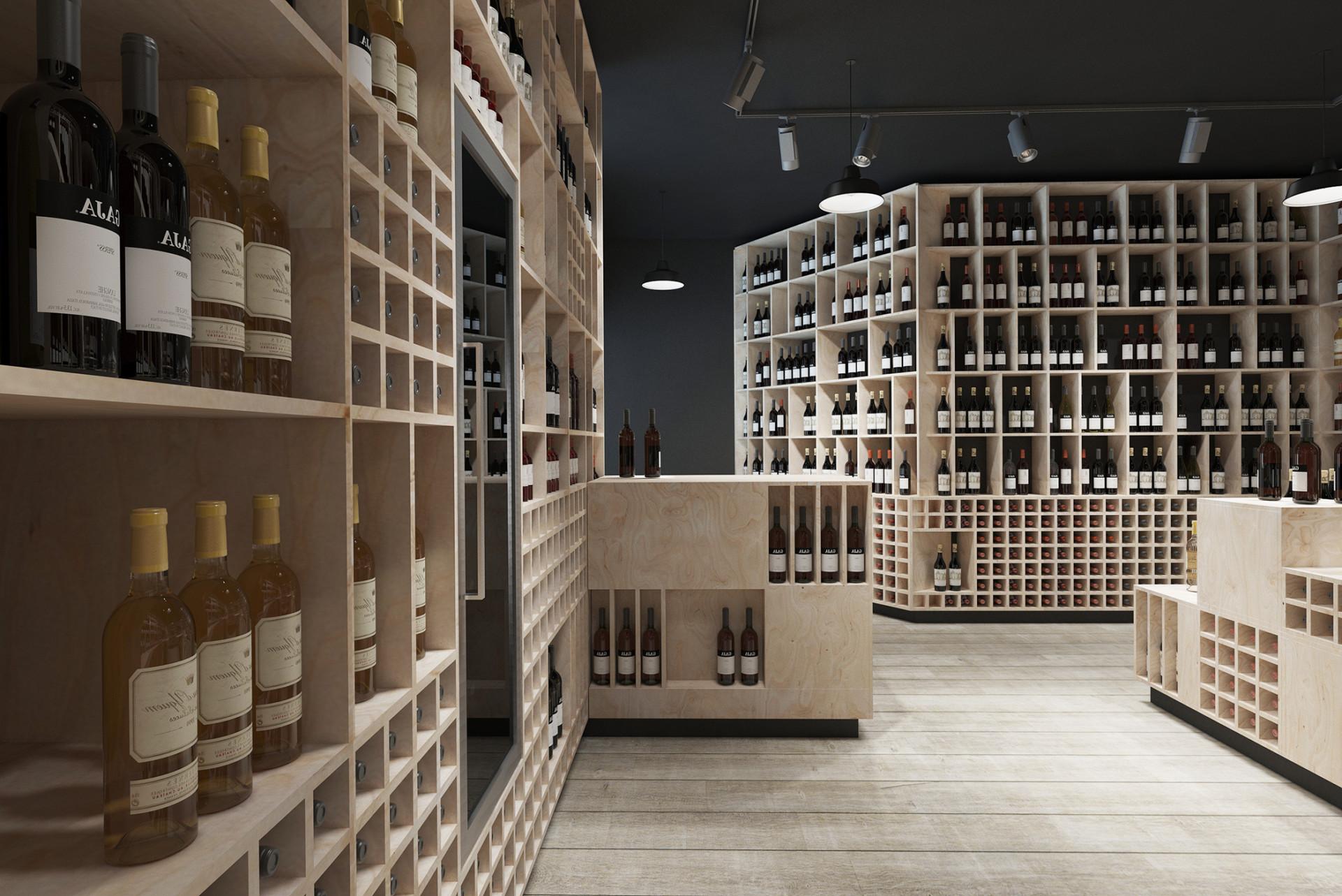 Kint Studio english Wine shop